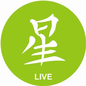 Chinese character, live