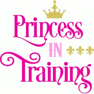 princess in training title