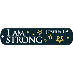 bookmark - I am strong