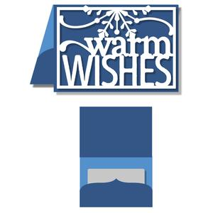 gift card holder - warm wishes