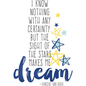 the stars make me dream