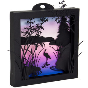 heron cove 3d shadow box