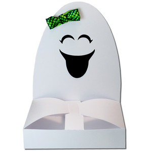 ghost girl hug treat box