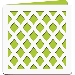 square lattice card