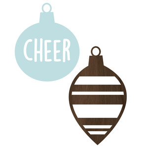 cheer ornaments