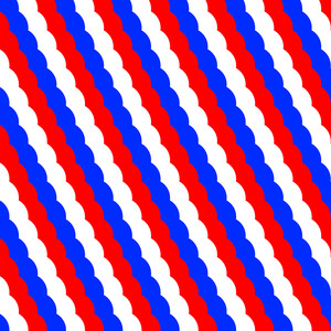 red white and blue striped pattern