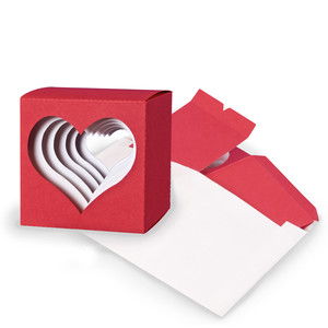 heart cube valentine