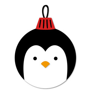 christmas ornament penguin