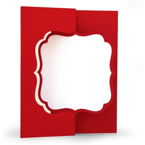 3d flip swing card bracket