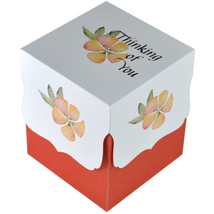 thinking of you watercolour floral gift box