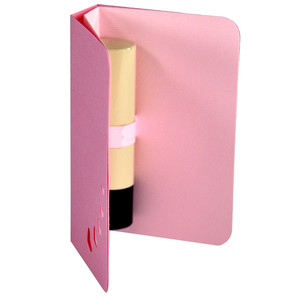 lipstick holder 3d gift card