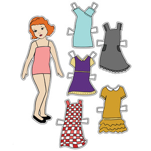 little miss paper dolls