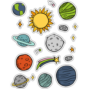 ml space explorer stickers