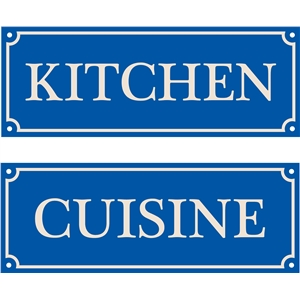 french house sign, kitchen, cuisine