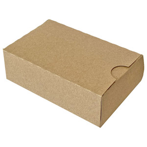 rectangle box with notched opening