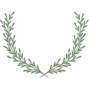 laurel leaf crest