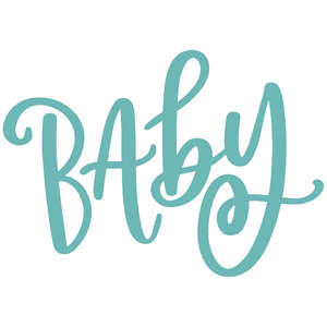 baby handlettered
