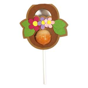 basket flower lollipop