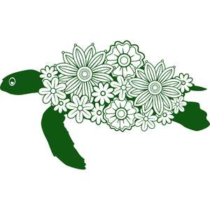 floral turtle