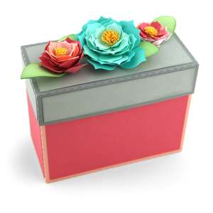 rectangle box flowers