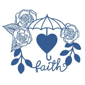 floral faith design