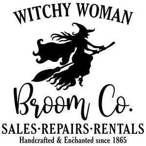 witchy woman broom co