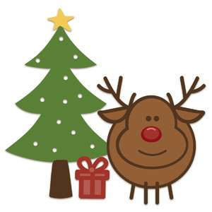 reindeer with tree