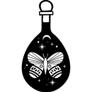 magical universe moth bottle