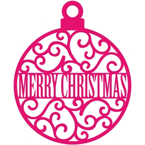 Silhouette Design Store - View Design #35571: merry christmas scroll ...