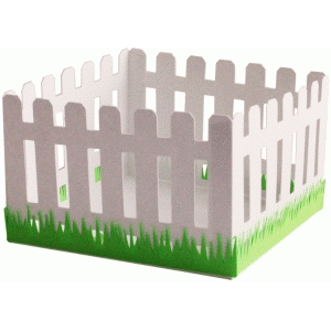 3d fence basket