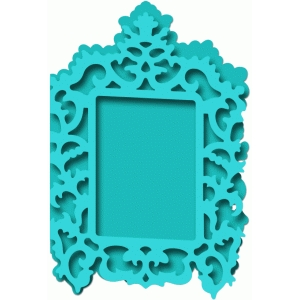 antique frame card