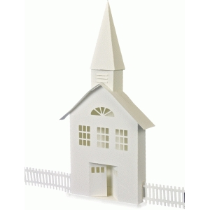 3d ledge village church