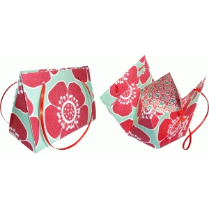 clutch purse gift bag