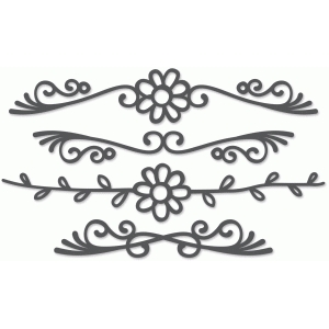 ornate border set