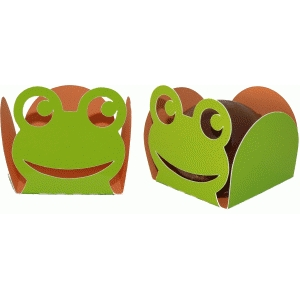 treat holder frog