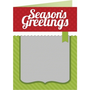 a2 season's greetings christmas card
