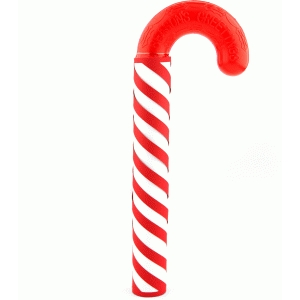 1 inch candy cane wrapper