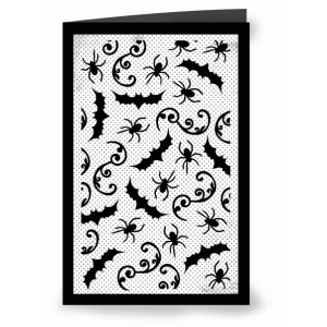 halloween intricate card
