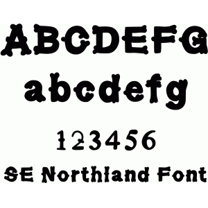 se north land font