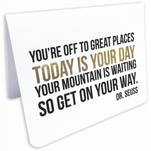 you're off to great places a2 card