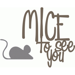 mice to see you