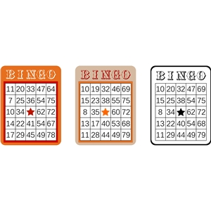 bingo sheet set