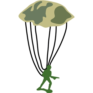 toy soldier parachute
