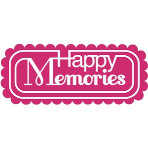 'happy memories' word phrase