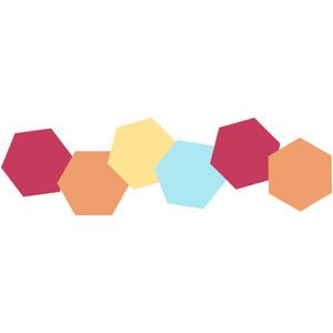 hexagon border