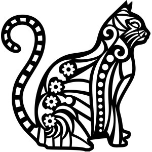 tribal cat