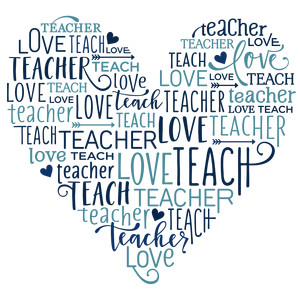 word collage - teacher