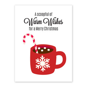 a scoopful of warm wishes neighborhood gift tag