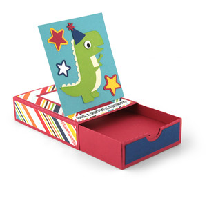 pop up drawer birthday dinosaur