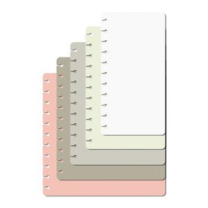 5 sizes notebook pages